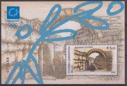 GRECIA 2002 Nº HB-20 USADO - Hojas Bloque