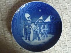 """Assiette De Collection Bing & Groendahl - Fêtes De Noël """"Jules Aften"""" 1987 - Bing & Groendahl (DNK)"""