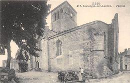 79-COULONGES-SUR-LAUTIZE- L'EGLISE - Coulonges-sur-l'Autize