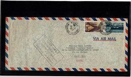 CTN52 - NOUVELLE CALEDONIE LETTRE DU 15/10/1953 - Nouvelle-Calédonie