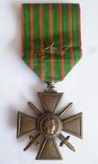 MEDAILLE CROIX DE GUERRE 1914-1918 1 Citation - France