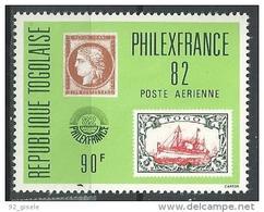 """Togo Aerien YT 479 (PA 479) """" Philexfrance"""" 1982 Neuf ** - Togo (1960-...)"""