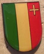 CANTON DE NEUCHÂTEL - DRAPEAU - SUISSE - SCHWEIZ -                     (10) - Badges