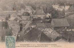 FAUCOGNEY    70  HAUTE SAONE  CPA VUE GENERALE PRISE  DU CALVAIRE - Andere Gemeenten