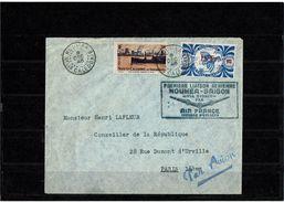 CTN52 - NOUVELLE CALEDONIE LETTRE DU 8/12/1948 - Nouvelle-Calédonie