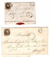 TP 6 (2) S/LAC&LSC & Incomplète Obl.D.45 (Distribution) + Boîte AA Dont 1 Type 18 V.Heusden PR4783 - Postmarks - Lines: Distributions