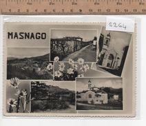 6264  MASNAGO VEDUTE VARIE - Varese