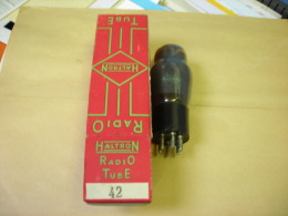 SMC. Tube Radio Haltron N°42 - Vacuum Tubes