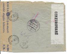 SLOVAQUIE - 1942 - ENVELOPPE Par AVION Avec 2 CENSURES De MICHALOVCE => BUDAPEST (HONGRIE) - Slovaquie
