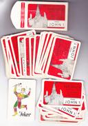 KAARTSPEL 32 PRINS JOHN 1 BORGLOON CARNAVAL  1965 / LOOZ - 32 Cards