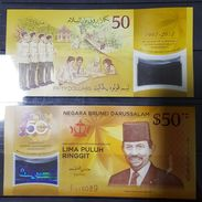 Brunei 2017 Commemorative Note(UNC Polymer) - Singapore
