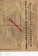 87-LIMOGES- RARE AFFICHE CATALOGUE HENRI CHARLES LAVAUZELLE-IMPRIMERIE ARMEES ET COMMANDANTS DE BRIGADE GENDARMERIE-1905 - Imprimerie & Papeterie