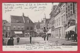 Vlissingen - Kleine Markt .... Geanimeerd  - 1905 ( Verso Zien ) - Vlissingen