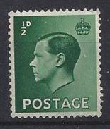 GB 1936 KE VIII (**) MNH SG.457. Mi.193x - 1902-1951 (Kings)