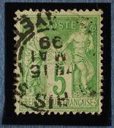 Sage N°106.Type Il Ob.(CAD)  PARIS Rue Lafayette 15 Mai 1899.( Bur 51 ) - 1876-1898 Sage (Type II)