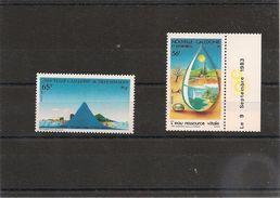 NOUVELLE CALÉDONIE  Années 1983/84 N°Y/T : 478-487** - Nouvelle-Calédonie