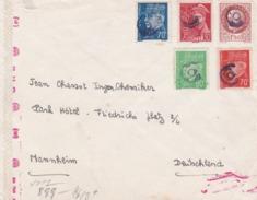 Timbres Pétain Avec Censure - 1921-1960: Modern Period