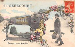 80-SEBECOURT- RECEVEZ MES AMITIES - France