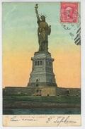 U.S.A. - NEW YORK - Jolie Carte De La Statue De La Liberté - Statue De La Liberté