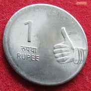 India 1 Rupee 2009 B KM# 331 Inde Indie - Inde