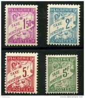 Algerie (1945) Taxe N 29 à 32 * (charniere) - Algérie (1924-1962)