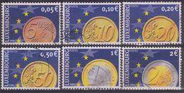 LUXEMBURGO 2001 Nº 1497/02 USADO - Luxembourg