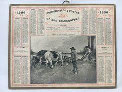 Almanach Des Postes & Des Télégraphes 1906 - Calendriers