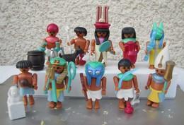 Kinder 1997 : Série Complète Allemande Playmobil : Abenteuer Am Nil Avec 1 BPZ (10 Figurines) - Kinder & Diddl