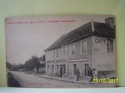 """RADONVILLIERS (AUBE) LES COMMERCES. LES MAGASINS.  """"A LA GAIETE"""". CAFE PAUMIER.  101_0570""""b"""" - France"""
