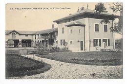 VILLARS-les-DOMBES  (cpa 01)    Villa Qué-Quet-   - L 1 - Villars-les-Dombes