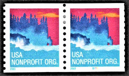 United States - Scott #3775 Used - Plate #B111 Pair - Coils (Plate Numbers)