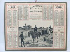 Almanach Des Postes & Des Télégraphes 1910 - Calendriers