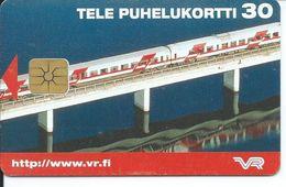 Train Pont  Télécarte à Puce  Phonecard Telefonkarte  (S. 630) - Finlande