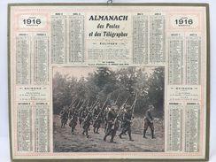 Almanach Des Postes & Des Télégraphes 1916 - Calendriers
