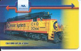 Train Locomotive Télécarte à Puce  Phonecard Telefonkarte  (S. 631) - Bulgarie