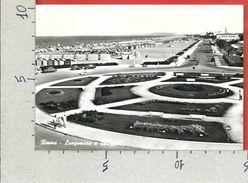 CARTOLINA VG ITALIA - RIMINI - Lungomare E Spiaggia - 10 X 15 - ANN. 1960 - Rimini