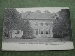 EVERGEM - CHATEAU DE MR. GAETAN SCHOORMAN 1908 ( Scans Recto/verso ) - Evergem