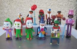 Kinder 1999 : Série Complète Allemande Playmobil : Jahrmarkt Der Fantasie Avec 3 BPZ (11 Figurines) - Kinder & Diddl