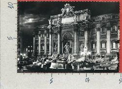 CARTOLINA VG ITALIA - ROMA - Fontana Di Trevi - 10 X 15 - ANN. 1952 - Fontana Di Trevi