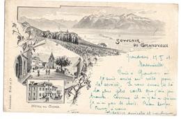 SUISSE - GRANDVAUX Souvenir, Pionnière - VD Vaud