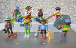 Kinder 2001 : Série Complète Allemande Playmobil : Urlaud In Den Alpen Avec 1 BPZ (9 Figurines) - Kinder & Diddl