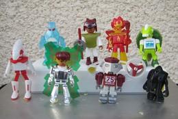 Kinder 2002 : Série Complète Allemande Playmobil : TECnatures Avec 4 BPZ (8 Figurines) - Lots