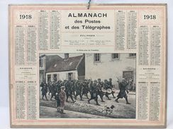 Almanach Des Postes & Des Télégraphes 1918 - Calendriers
