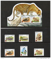 2013 SRI LANKA - Birds, Animals ( Complete Set ) - Francobolli