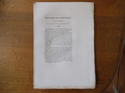 BERNARDIN DE SAINT-PIERRE JACQUES-HENRI NE LE 19 JANVIER 1737 MORT LE 21 JANVIER 1814 Hte GAUCHERAUD 12 PAGES ET 1 GRAVU - Biographie