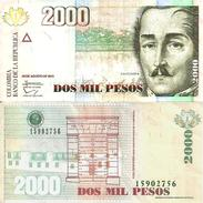 Colombie - COLOMBIA  2000 PESOS 2013 -SUP (XF) - Colombia