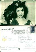7318a)cartolina-riun.naz.bersaglieri D'italia-17-03-58-palermo F.to Di Gina Lollobrigida-versione-a Bersagliera - Characters