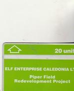 CUR. 032  ELF  ENTREPRISE CALIFORNIA - Royaume-Uni