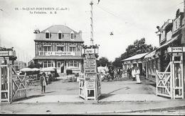 St Saint-Quay-Portrieux - La Potinière (Bar, Brasserie, Dancing) - Phototypie A. Bruel - Carte N° 18 Non Circulée - Saint-Quay-Portrieux