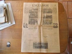 EXCELSIOR LUNDI 13 SEPTEMBRE 1926 LES GRANDES MANOEUVRES DE L'ARMEE DU RHIN,LA CRISE ESPAGNOLE,MONZA GRAND PRIX DE TOURI - Informations Générales